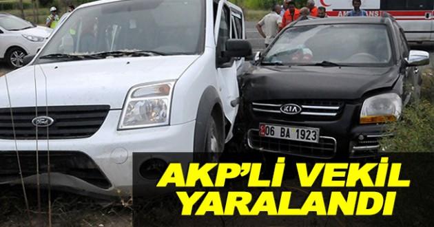 Ak Parti'li Vekiller Kaza Yaptı