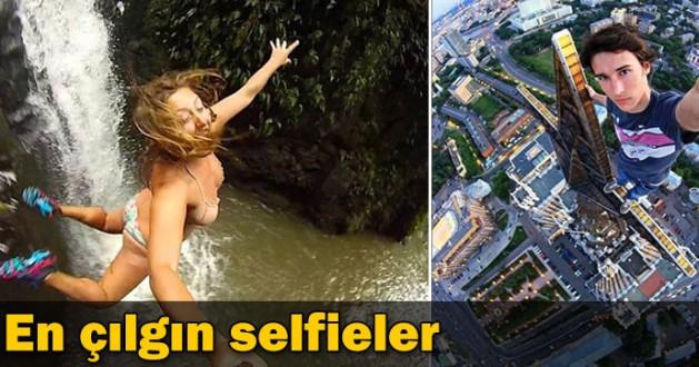 En çılgın selfiler