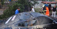 Karabük'te Fırtına ve Sağanak, Maddi Zarara Yol Açtı