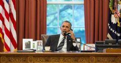 Obama, Merkel ve Hollande ile Görüştü