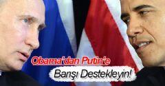 Obama, Putin İle Görüştü!