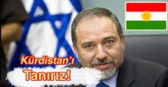 İsrail 'Kürdistan'ı Tanıyacak