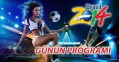 Dünya Kupası 2014 2. Tur Maç Programı Puan Durumu ve Toplu Sonuçlar