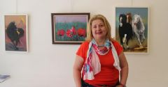 Türk ve Kırgız Ressamlar Paris'lileri Büyüledi