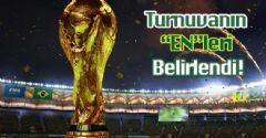 Dünya Kupası'nın 'En'leri Belli Oldu