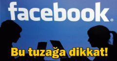 Facebookta Dolandırıcılık Dikkat