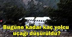 Bugüne Kadar Düşürülen Yolcu Uçakları