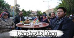Kardeşlik ve Dayanışma İçin Ramazan Sofra