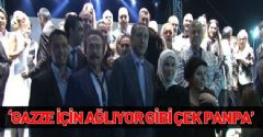 AKP İstanbul İl Teşkilatı'nın İftarında Yıldız Yağmuru