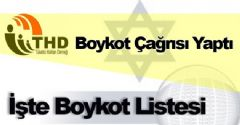 THD'den Boykot Çağrısı