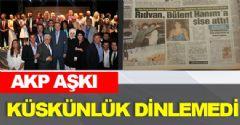 AKP Aşkı Küskünlük Dinlemedi