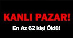 GAZZE'DE EN KANLI PAZAR
