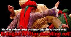Alevi Bektaşi Federasyonu: Haram sofrasında oturmak Alevilere yakışmaz