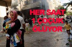 Filistinde Her Saat 1 Çocuk Ölüyor