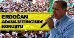 Başbakan Erdoğan Adana'da Konuşuyor
