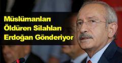Müslümanları Öldüren Silahları Erdoğan Gönderiyor