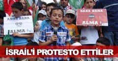 Başkent'li Çocuklardan İsrail Protestosu