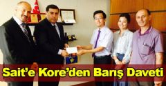Sait'e Kore'den Barış Daveti