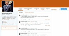 Davutoğlu Twitter'dan Duyurdu!