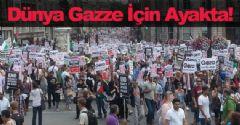 Dünya Gazze İçin Ayakta