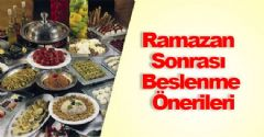 Ramazan Sonrası Beslenmeye Dikkat