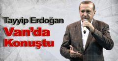 Başbakan Erdoğan Van Mitinginde