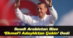 Erdoğan İstanbul Mitinginde