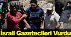 İsrail Gazetecileri Vurdu
