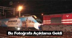 Lokomotif Hızlı Treni Çekti