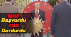 YSK, Başbakan'ın Seçim Reklamını Durdurdu