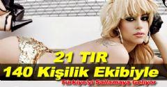 Lady Gaga İstanbul'u Sallayacak