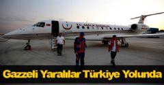 Gazzeli Yaralılar Türkiye Yolunda