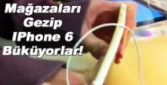 Apple Store'larda İphone 6 Büken Gençler