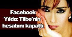 Facebook, Yıldız Tilbe'nin hesabını kapattı