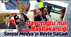 Davutoğlu'nun Başbakanlığı Sosyal Medyayı Salladı