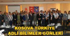Kosova Türkiye Adli Bilimler Günleri