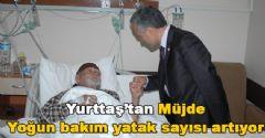 Sağlık Bakanlığı Yoğun Bakım Yatak Sayısını Artırıyor.