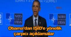 Obama'dan IŞİD'e yönelik çarpıcı açıklamalar
