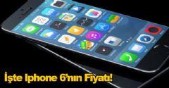 İşte Iphone 6'nın Fiyatı!