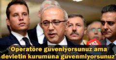 Bakan Lütfi Elvan Devlete Duyulan Güvensizliği Eleştirdi