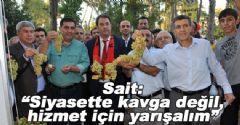 AK Parti ve CHP'li Vekiller Birlikte Yürüdüler