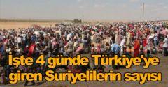 Türkiye'ye Sığınanların Sayısı 130 Bin Oldu