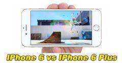 IPhone 6, IPhone 6 Plus'a Karşı
