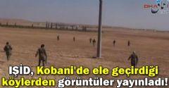 IŞİD, Kobane'den Görüntü Yayınladı