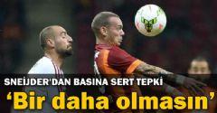 Sneijder Türk Medyasına Kızgın!