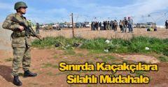 Sınırda Kaçakçılara Silahlı Müdahale!