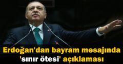 Erdoğan: ' Biz Bölgede Barış İstiyoruz'