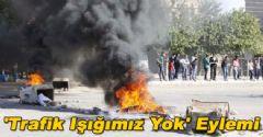 Şanlıurfa'da Eylemciler Yol Kapattı!
