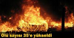 Protestolarda Ölü Sayısı 35 Oldu