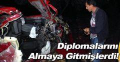 Manisa'da Trafik Kazası!